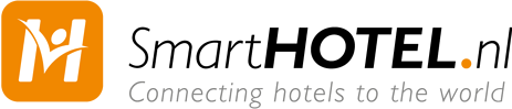 Logo SmartHOTEL - connecting hotels to the world